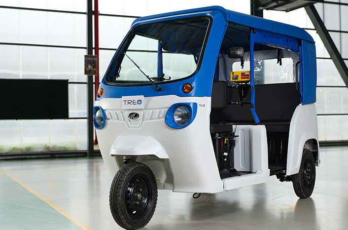 Know about the Mahindra Treo e-rickshaw Specification